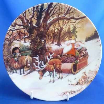 Royal Worcester Thelwell's Ponies Collector Plate - The Highwayman