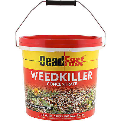 DeadFast Super Strength Weed Killer Concentrate - 12 Pack for Treating 720sqm