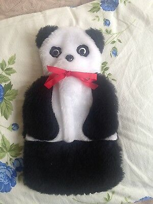 panda hot water bottle