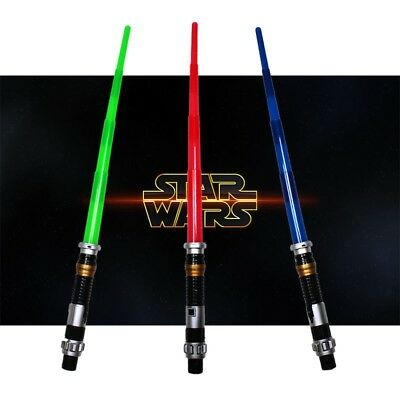 Espada Laser Light Sable Luz Skywalker Jedi Sith Luz Colores Rogue One Halloween