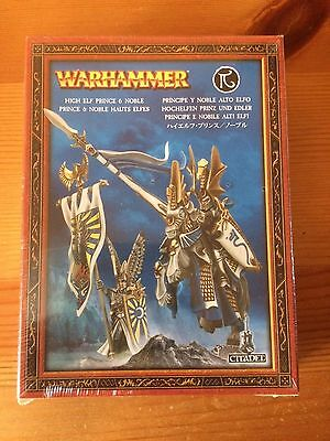 Warhammer High Elf Prince And Noble - New & Sealed