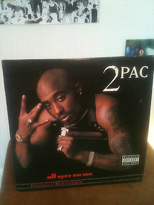 2Pac All Eyez On Me 3 LP Vinyl Remastered 2002 Edition TUPAC CLASSIC!