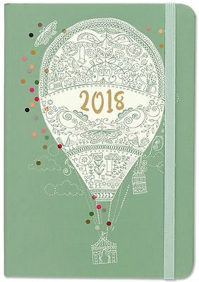Peter Pauper 2018 Up, Up and Away Weekly Planner (16-Month Engagement Diary)