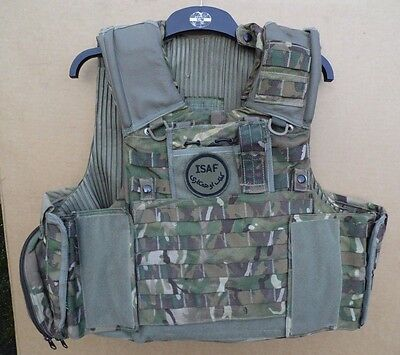 Genuine British Army Issue Mtp Osprey Body Armour Vest