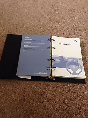 Volkswagen Golf Owner's Manual for 2005 year onwards