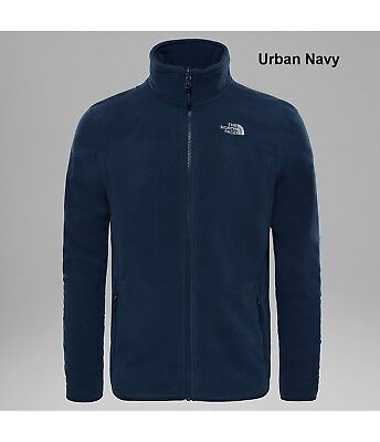 The North Face Mens100 Glacier Full Zip Fleece - Lightweight