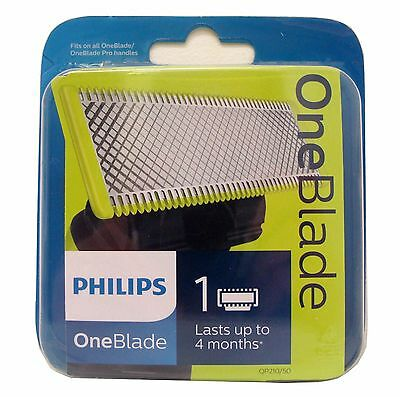 Philips OneBlade 1 Cartridge - Fits On All OneBlade & One Blade Pro Handles