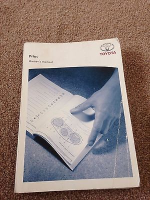 Toyota Prius Owner's Manual for 2006 year onwards