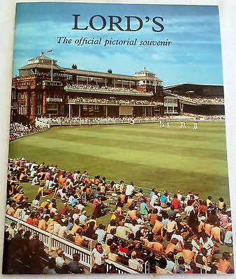 1970/80s PICTORIAL SOUVENIR OF LORDS CRICKET GROUND
