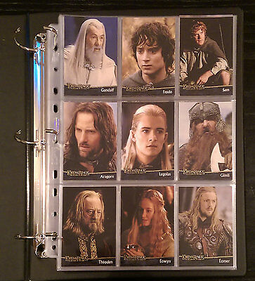 Lord of the Rings - The Return of the King (Topps Trading Cards) complete