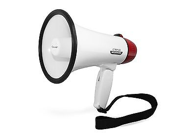 Clever Pro CMP3R Mini Megaphone/Bullhorn with Siren and Recorder