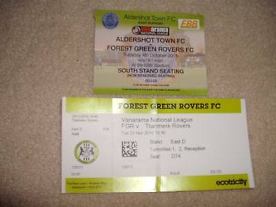 Forest Green Rovers 2016 Tickets