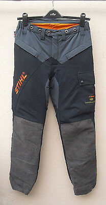 Stihl Forest Wear chainsaw trousers size Medium Class 1 - protective cloth