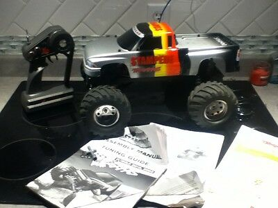 Traxxas Stampede 2WD with TQ remote controller 1/10