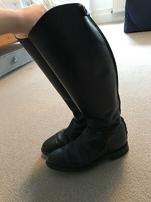 REGENT Leather Riding Boots Size 7