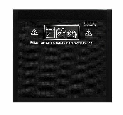 Black Hole Faraday Bag - Standard Non-Window Size - Signal Blocking Anti-trac...