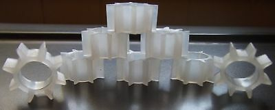 Votive Cup Grommets Clear New(100)Holds Pegvotivecups Tight Home Interior&others