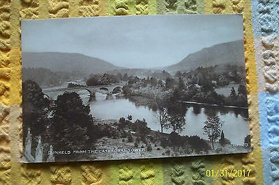 Postcard-- Dunkeld From The Cathedral Tower