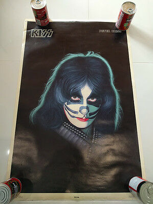 KISS Peter Criss ORIGINAL AUCOIN 1978 Solo Album Poster - ALL FOUR AVAILABLE