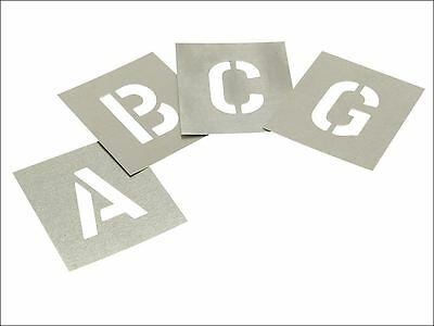 Stencils - Set of Zinc Stencils - Letters 6in