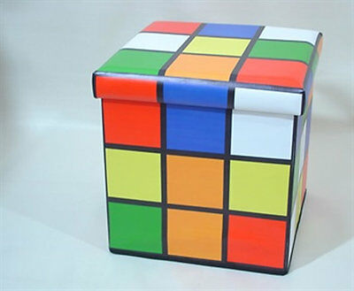Rubix Cube Folding Storage Box 36 x 36 x 36 cm