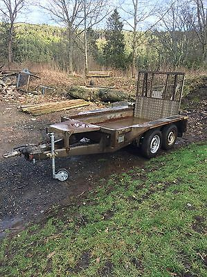 Ifor Williams 8' X 4' Plant Trailer 2700kg Twin Axle Braked Ramp Tailgate