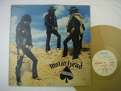 Motorhead,Ace Of Spades,Limited edition original press,Gold vinyl,LP