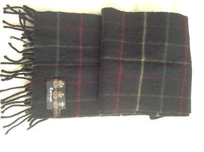 barbour 100% lambswool scarf