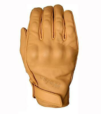 Weise Victory Classic Motorcycle Glove Tan Leather Touring Armoured