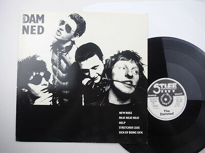 Damned,The Damned,Rare five track EP