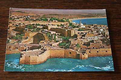 Acre - Israel General View / Air View Postcard