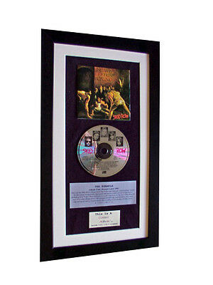 SKID ROW Debut+1st CLASSIC CD Album GALLERY QUALITY FRAMED+EXPRESS GLOBAL SHIP