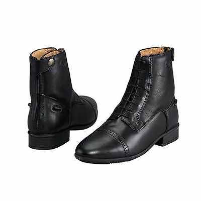 NEW Ladies Ovation Finesse Concours Rear Zip Paddock Boots - Black 36, 38, 40,42