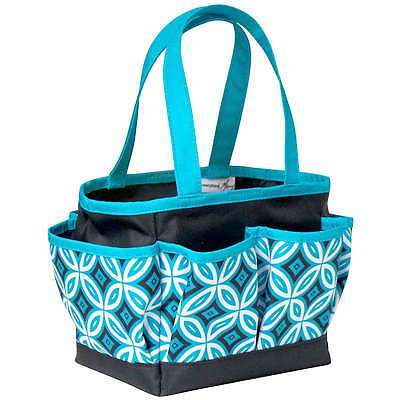 Everything Mary Mini Crafters Tote-Teal/Black 812259054051