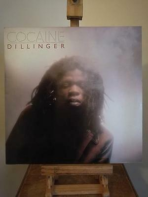 Dillinger - Cocaine. Vinyl Lp. 1984 Uk Press. Reggae Dub. Vg Condition