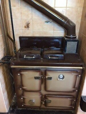 Rayburn MF Cooker with Oil Conversion Unit Brown