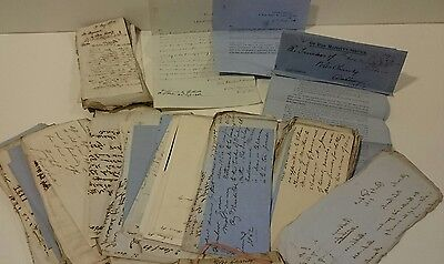 Large collection of Poles Charity letters 1860s