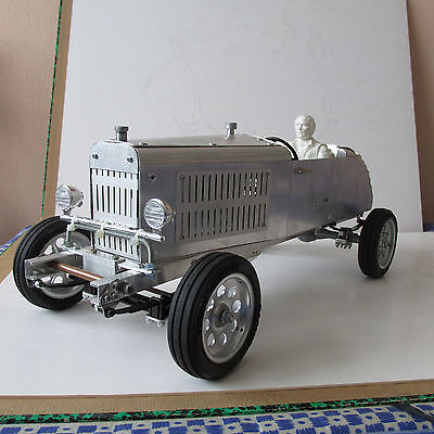 Handmade Aluminium Ford Hot Rod 1/10 Rc Vintage Metal Scale Model Collector