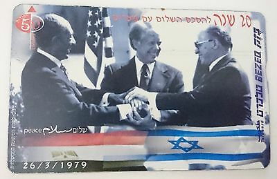 Israel phone card 20 year for Israel Egypt peace agreement