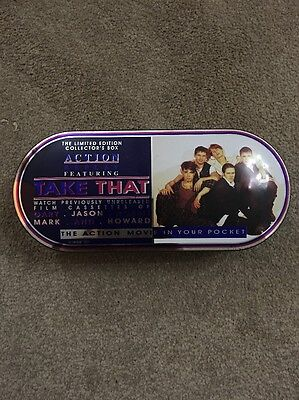 Limited Edition Collectors Box Take That  Action Movie In Your Pocket