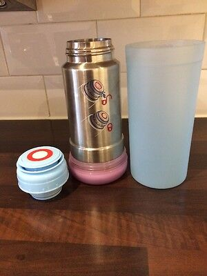 Fisher Price Baby Bottle Flask/Warmer Steel Thermos