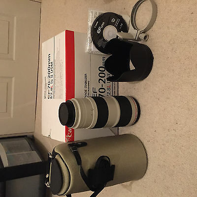 Canon EF 70 mm - 200 mm F/2.8 EF IS II USM for Canon - White