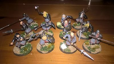 LOTR Games Workshop Warriors of Erabor Painted and based