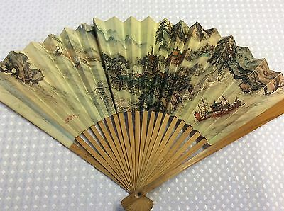 Vintage Chinese Fan Made In China