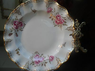 Royal Crown Derby Pinxton Roses Dinner Plate 10ins