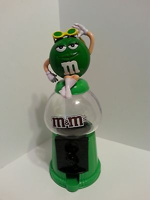 M & M's Gumball/candy Dispenser Green Girl With Sunglasses