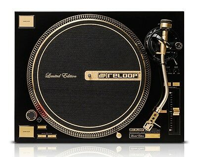 Pair Reloop RP-7000-GLD Direct-Drive High Torque Turntable Gold NEW RP 7000 GLD