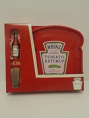 Heinz Tomato Ketchup collectors sandwich box and knife.