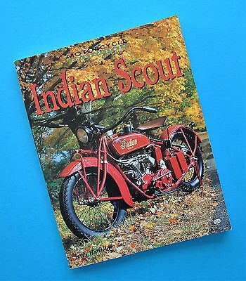 1920-53 Indian Scout 101 Scout Motorcycle Engineering Manual Book Jerry Hatfield