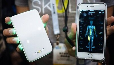 Skulpt Chisel Scanner Body Fat Or Mass Percentage Monitor Activity Tracker